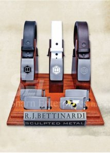 Belt & Buckle Display