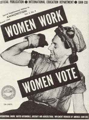 a discussion on womens right to vote Cady stanton the women discussed the misfortunes imposed upon females –  not having voting rights, not being able to own property, few.