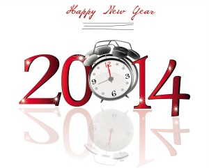 Clock-New-Year-2014-Facebook-Status-Wallpapers